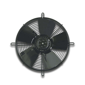 230 V 50 Hz 138 W 1370 rpm External Rotor Axial Fan MF065