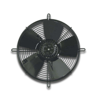 380 V 50 Hz 250 W 2500 rpm External Rotor Axial Fan MF042