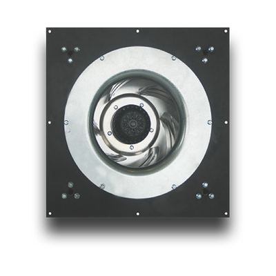 BMF310-GH AC Backward curved centrifugal fan with support bracket and panel